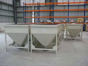 Mobile Transferable Hoppers and Container