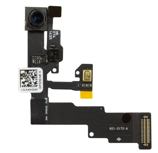 100% New Proximity Sensor Motion Flex Cable Front Face Camera For iPhone 6 Plus