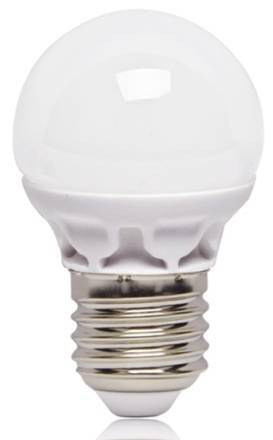 new E27 ceramic led bulb with milky glass