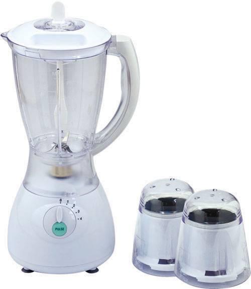 2 in 1 kitchen PC fruit jar blender