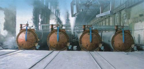 Autoclave Aerated Concrete(AAC plant) Equipment