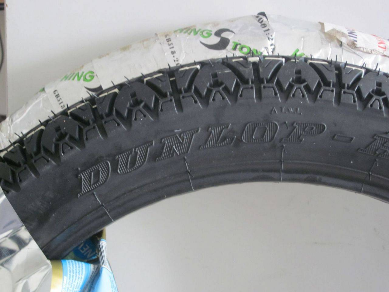 Dunlop High Grip 300-17 for Uganda Bajaji MotoBike