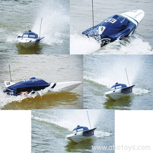 Bat Power 1300GP260 R/C Gasoline Boat - RTR(Pistol Transmitter)