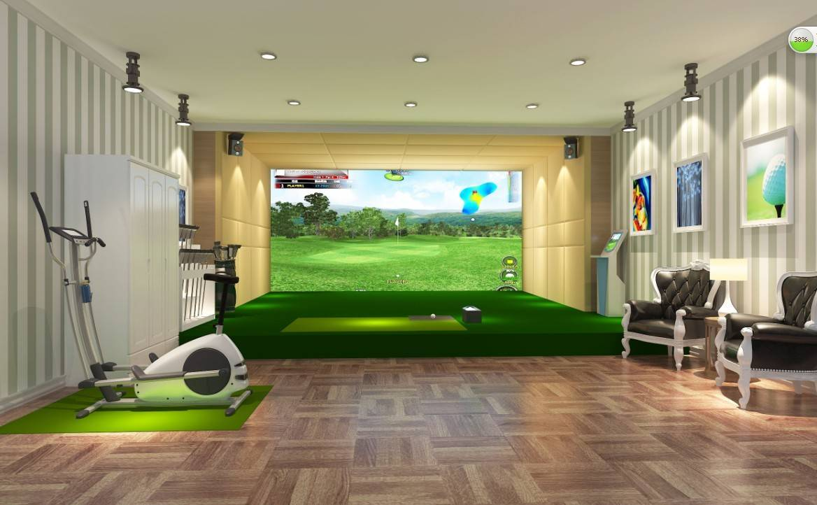 Golf Simulated Trainer