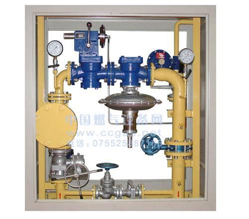 Gas regulator cabinet