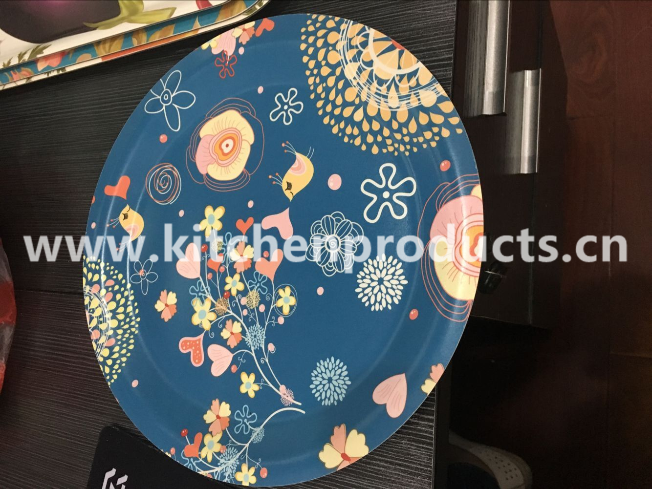 Reusable paper plate