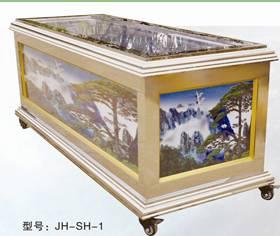 JH-SH Luxury Crystal Sarcophagus