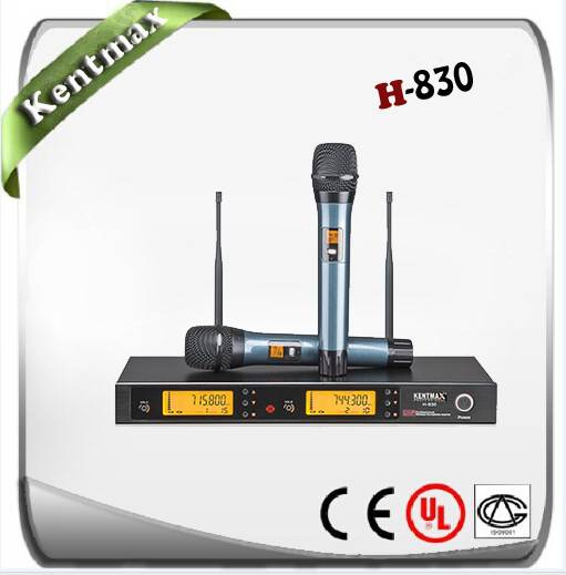 Supply UHF H-830 wireless microphone