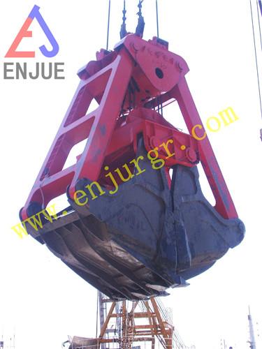 Electric-Motor Hydraulic Grabv