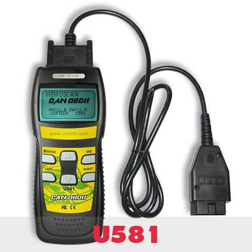 U581 Super CAN OBDII/EOBDII Memo Scanner