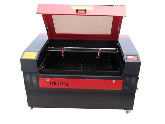 Plywood CO2 Laser Cutter Cutting machine TYE-1280
