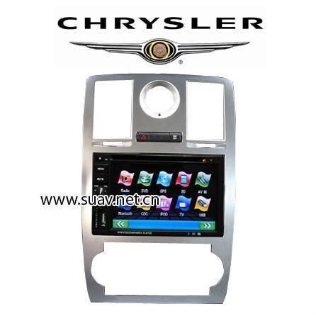 Chrysler 300C Car DVD Player 6.2Monitor RDS Bluetooth IPOD GPS navi