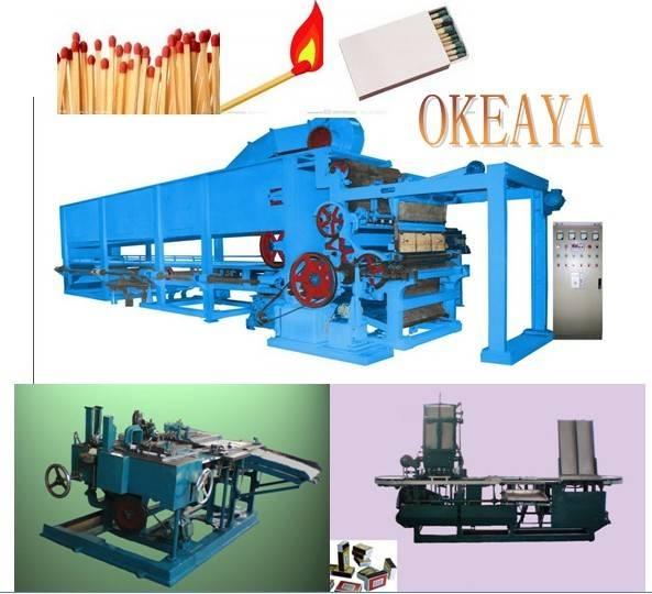 match making machine,wooden safety match making line