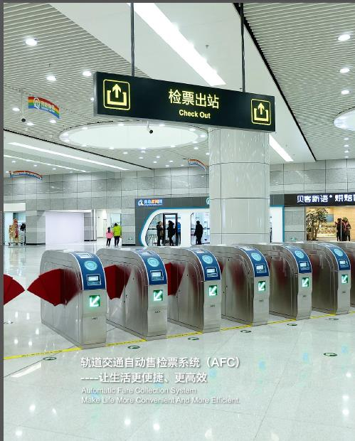 Automatic Fare Collection System (AFC)