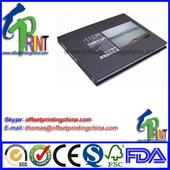 hardcover/casebound book printing