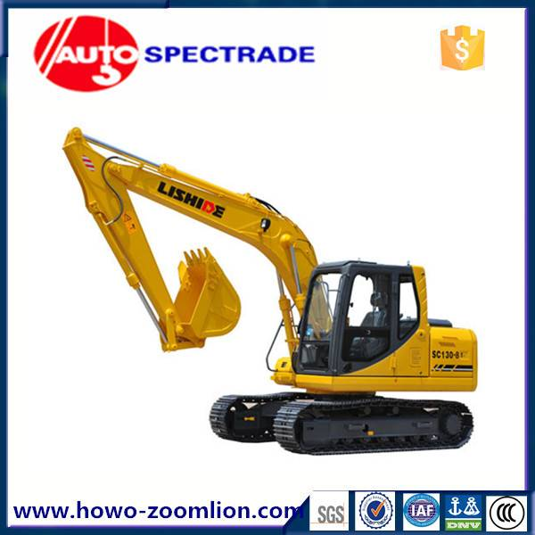 13 ton excavator China Lishide SC130.8 low price