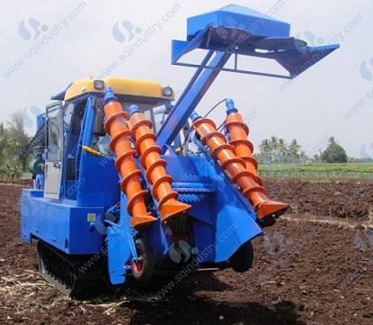 Combine sugarcane harvester SQCH02