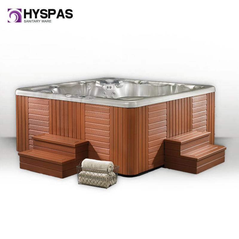 CE Approved 7 Persons Hyspas Whirlpool Outdoor SPA Hot Tub (HY-6701)