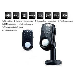 Built-in IR Sensor Camera Wireless GSM Alarm System Support Recording, SMS Remote and Voice Monitor