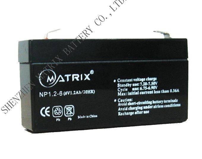solar battery 6V1.2Ah