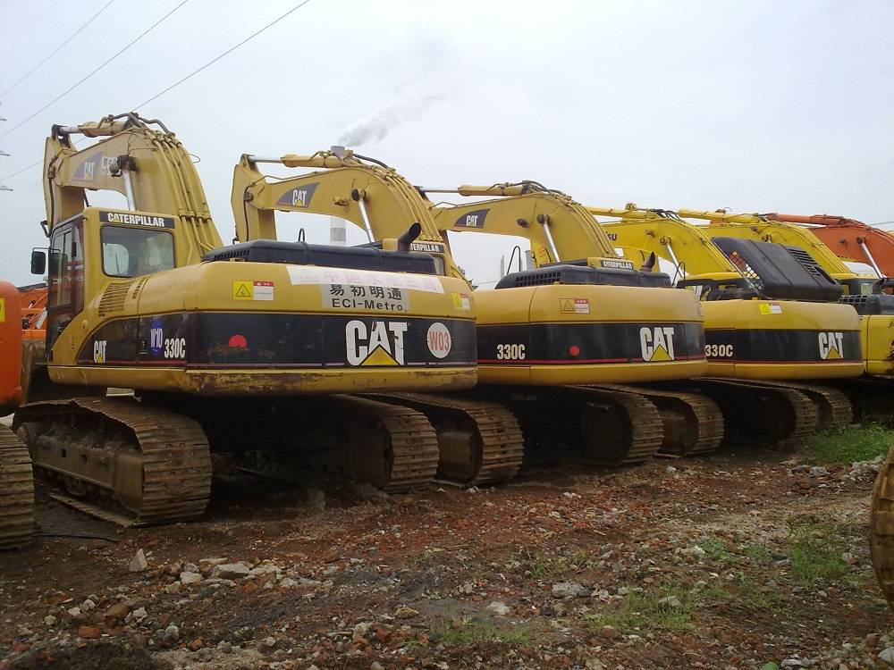 used CAT 330C excavator for sale