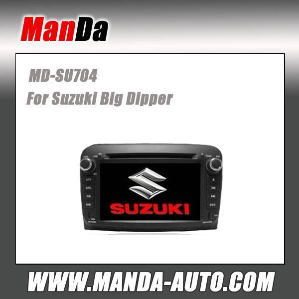 Manda 2 din car dvd for Suzuki Big Dipper E+ car dvd gps navigation indash head units multimedia