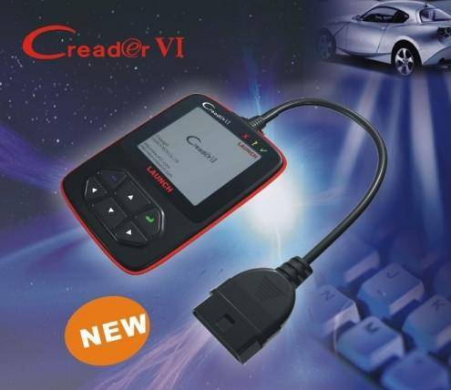 2011 new with colorful screen Launch CreaderVI