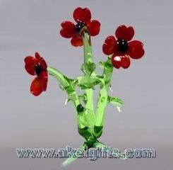 China hand-blown Glass Flowers Glass Plants