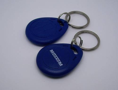 Colorful rfid key tag