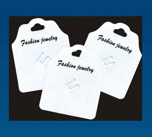 Jewelry Packing Card / Jewelry Tag