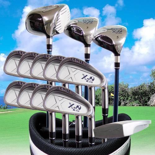 dowal x2o-xm golf club sets-iron, half sets putter