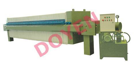 Chamber Filter Press for sewage treatment plant