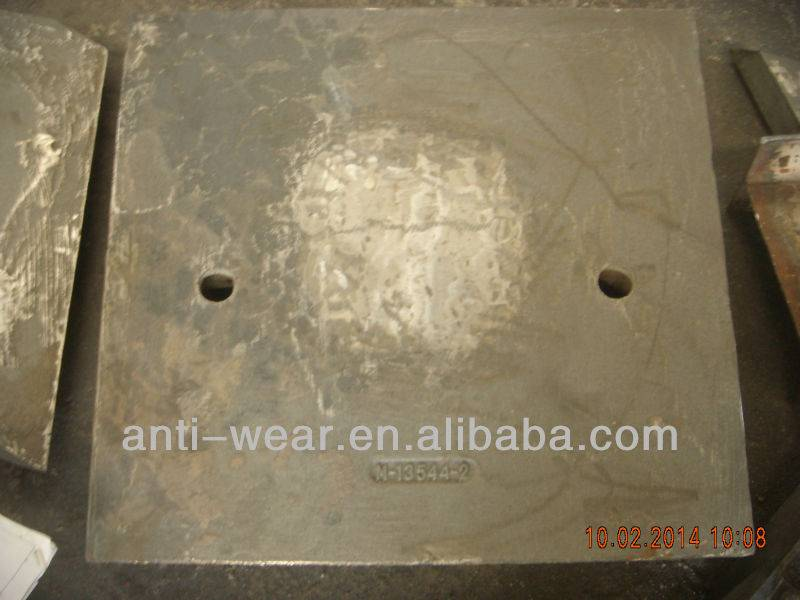 High Cr Cast Iron Feed Chute Liners