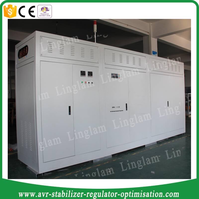sbw-f 1000kva 3 phase AVR voltage regulator