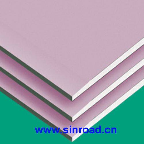 Fireproof paper faced plasterboard