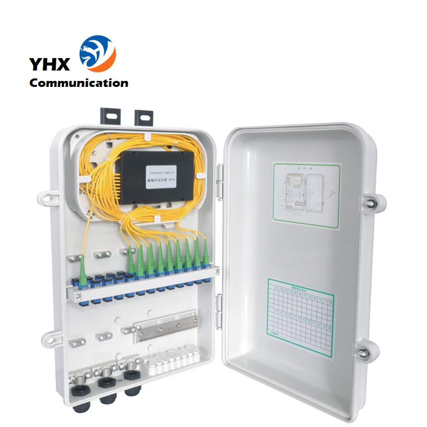 cheaper than alibaba 4/8/16 Core Waterpr fiber optic termination box for FTTH projects free samples