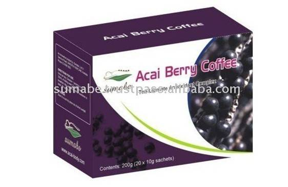 Acai Berry Coffee(Certified Organic), effecient slimming coffee