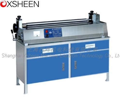GJS700/550 adjustable speed gluing machine