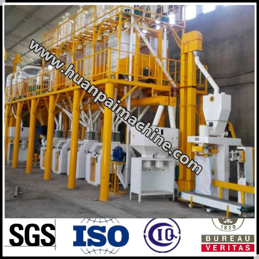 maize processing machine with good quality