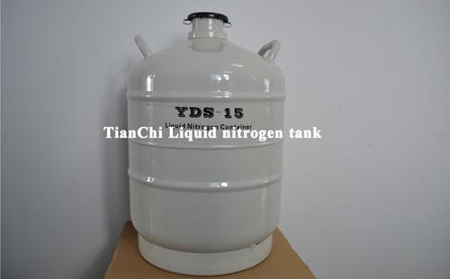 TIANCHI 15L liquid nitrogen cylinder YDS-15 in Taiwan
