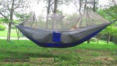 selling Parachute hammock with mosquito mesh ultralight portable for outdoor travel camping leisure