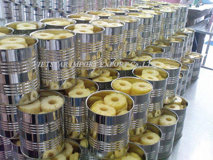 CANNED PINEAPPLE PIECES