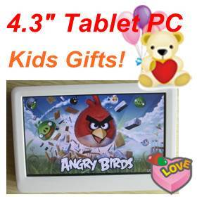 4.3 tablets PC 4.3 inch Android PDA Christmas gifts