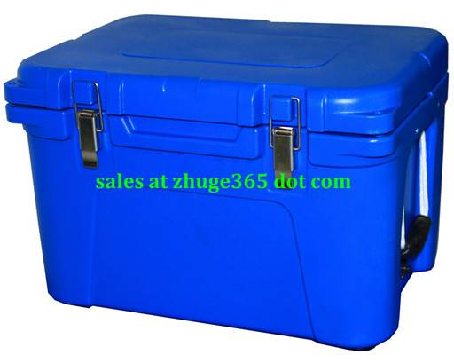 Premium Blue 35Litre Plastic Chilly Bin