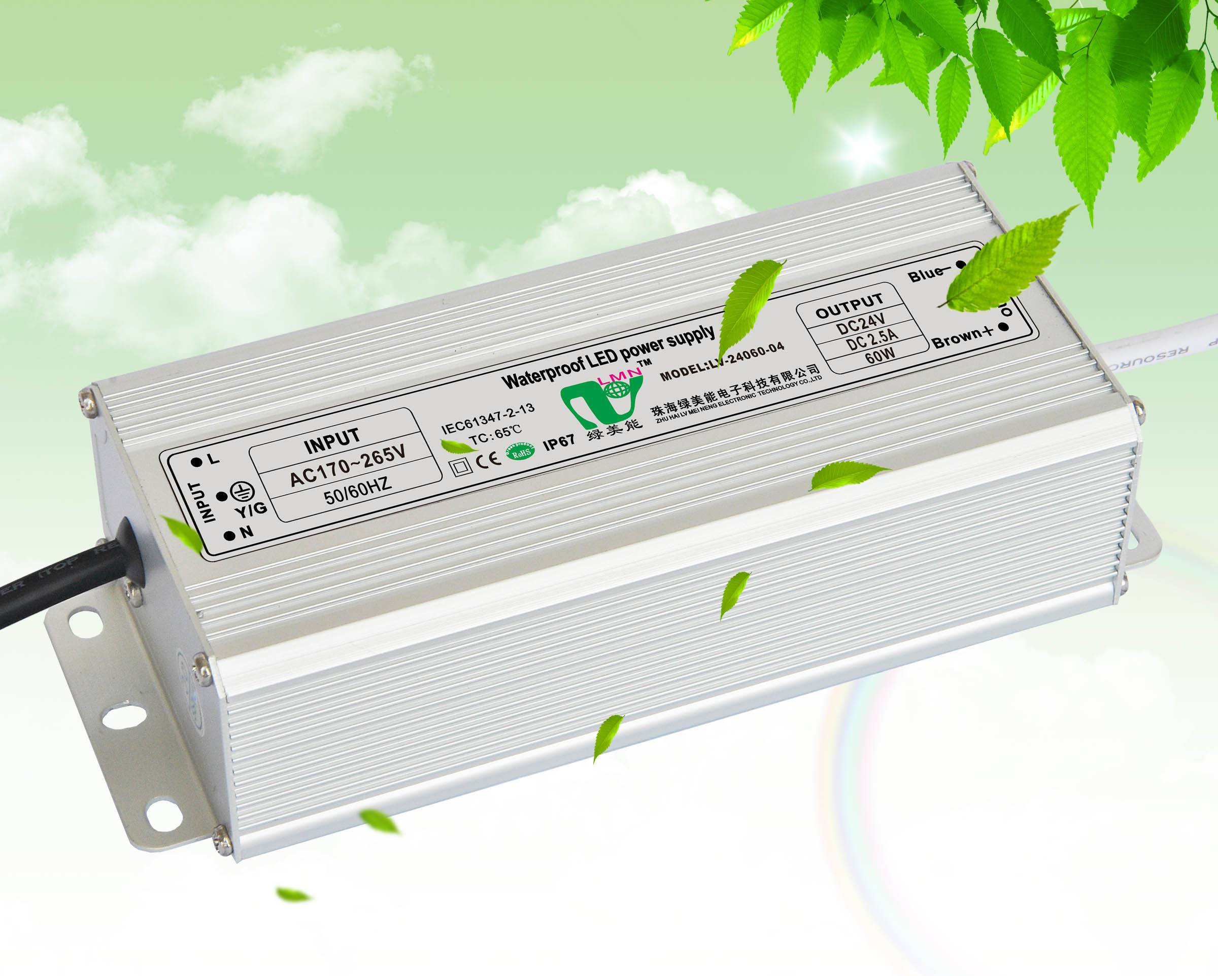 Factory direct supply low price high reliability waterproof led driver power supply IP67