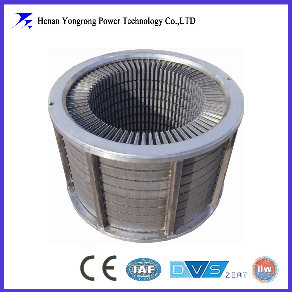 Customized high voltage laminated stator for electrical motor and generator