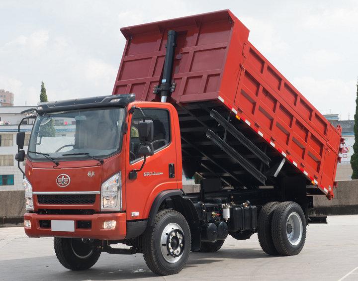 Dump trucks from FAW HONGTA