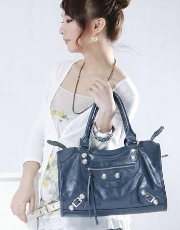 Korean japan fashion royalblue shoulder bag wholesale