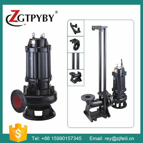 6 inches wastewater submersible pumps for sludge transfered cast iron 100m3/h electric submersible s