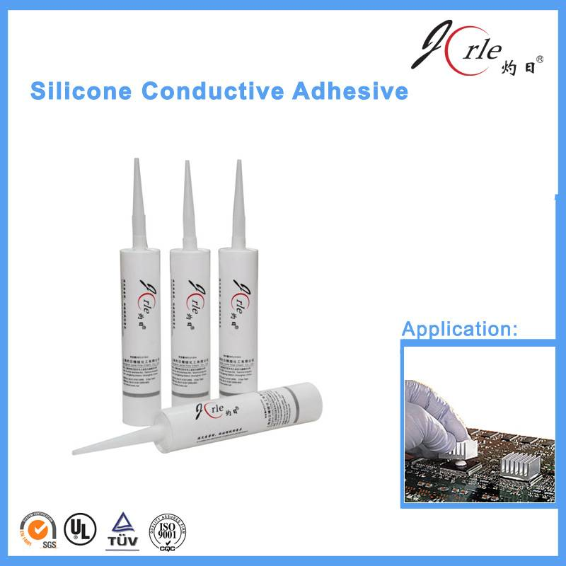 silicone heat transfer adhesive for electronics